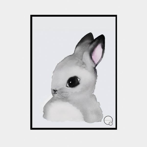 Bilde av Poster Bunny 30x40cm