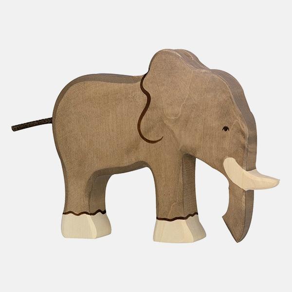 Bilde av Holztiger Elefant Stor
